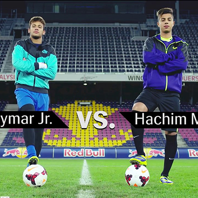 """Neymar Jr. vs. Hachim Mastour"" – Red Bull Reality Check; 2013"
