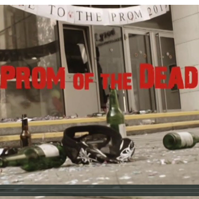 """Prom of the Dead"" – BORG 3 School Project; 2011"